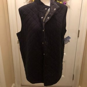 NWT CROFT AND BARROW QUILTED VEST - M